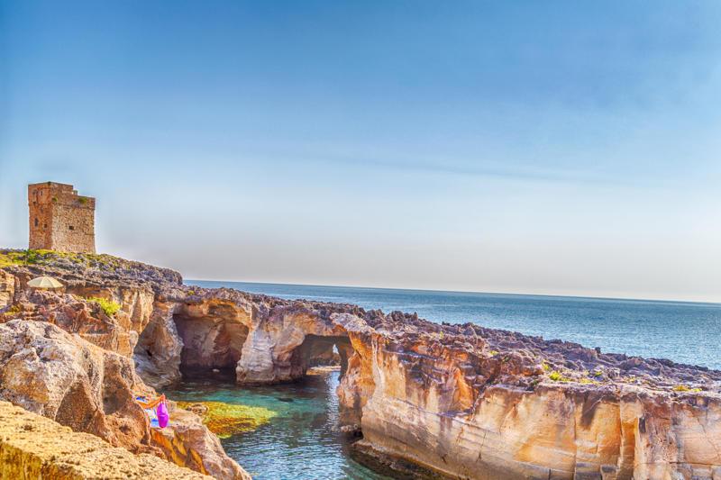 Prendi nota ecco dove vedere le piscine naturali del salento - Piscine rocciose ...